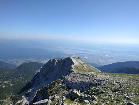 Alpine, Pirin Mountains, Rocks, Landscape, Peak