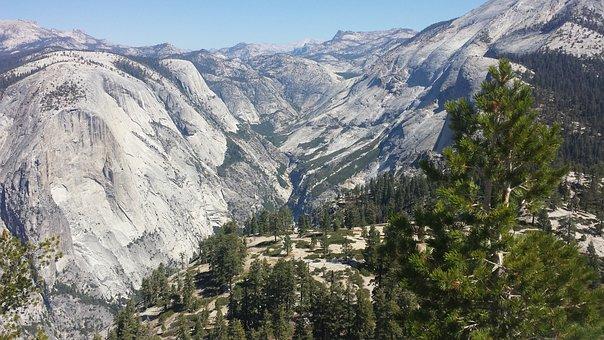 Yosemite, Mountains, Nature, National, Park, Landscape
