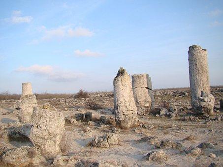 Petrified Forest, Stone, Rock, Landmark, Bulgaria