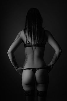 Body, Body Part, Woman, Lingerie, Butt, Po, Move, Sexy