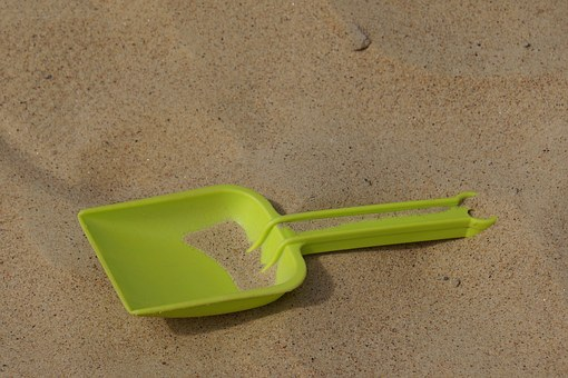Sand Shovel, The Playground, Shovel, Summer