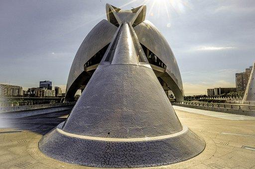 Architecture, Santiago Calatrava, City, Tourism, Spain