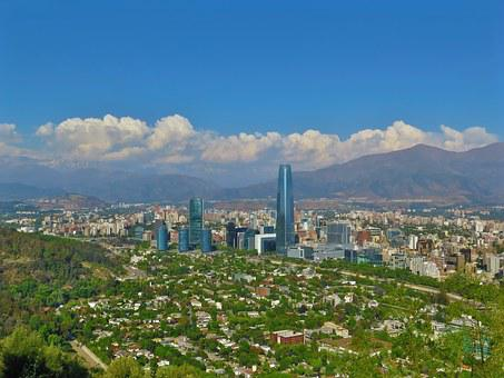 Santiago De Chile, Valley, Anyone, Day, Summer