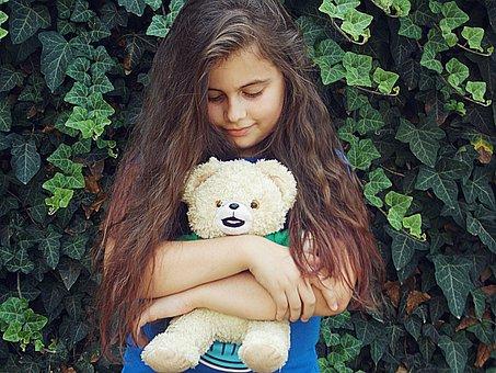 Teddy Bear, Sissy, Joy, Friendship, Green, Pink