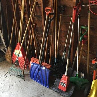 Shovels, Winter, Cold, Snow, Shoveling, Tool