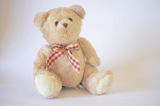 Teddy, Bear, Toy, Cute, Childhood, Child, Teddy Bear