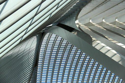 Santiago Calatrava, Architecture, Liège, Train Station