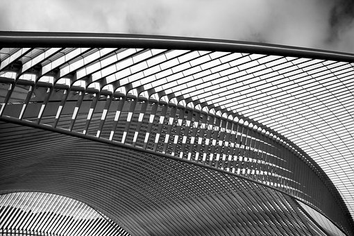 Santiago Calatrava, Architect, Train Station, Liège