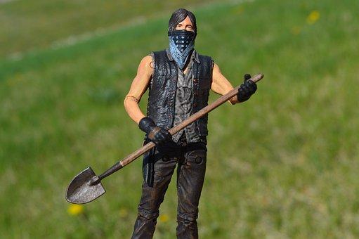Daryl Dixon, The Walking Dead, Action Figure, Tv