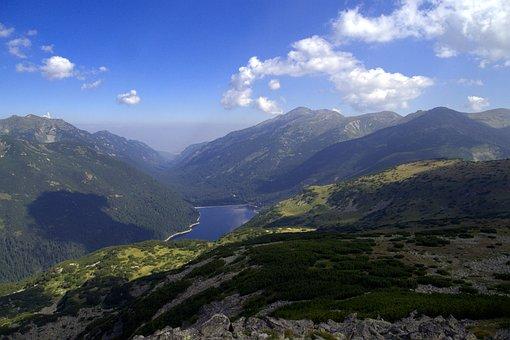 Bulgaria, Mountains, Rila, Clouds, Water, Lake, Country