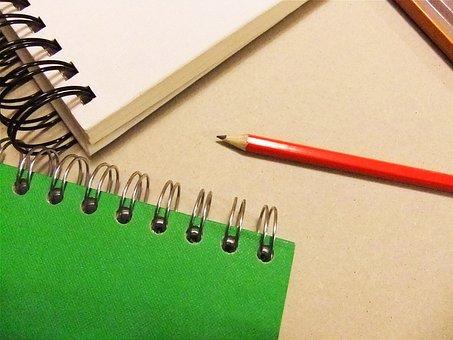 Sketchbook, Portfolio, Artist, Pencil, Wired, Paper