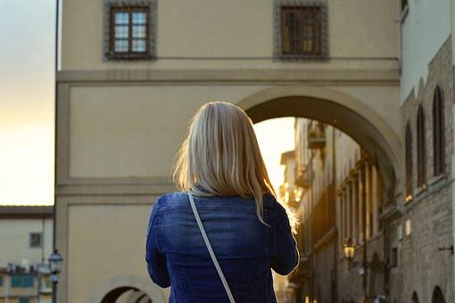 Blonde, Girl, Woman, Young, Female, Adult, Tourist