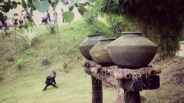 Earthen Jars, Jars, Old, Ancient, History
