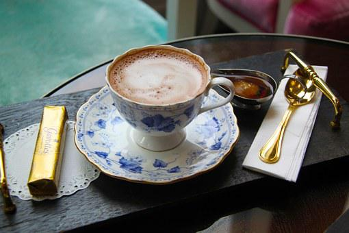 Hot, Chocolate, Afternoon, Aroma, Biscuit, Stick, Cafe