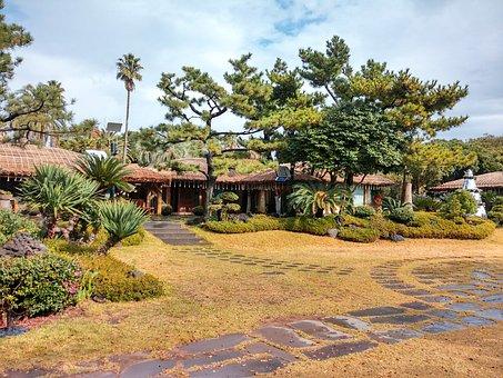 Jeju Island, Haevichi Hotel, Garden, Cafe