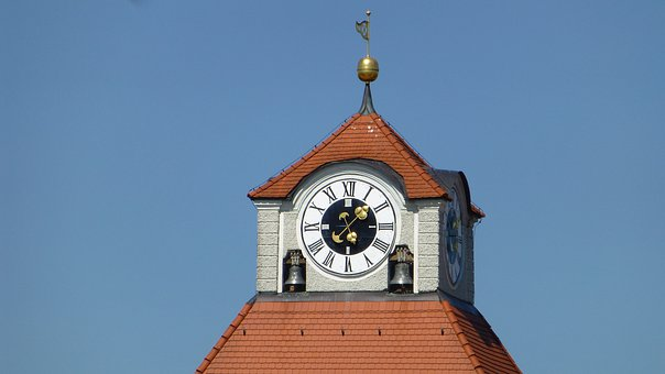 Bavaria, Castle Nymphenburg, Munich, Clock Tower