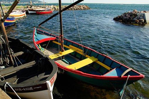France, Sète, Port, Boats