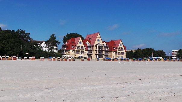 Grömitz, Beach, Coffee, Seaside, Resort, Hotel