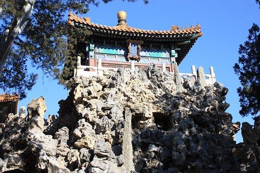 Garden, Forbidden City, Imperial Palace, Beijing, China