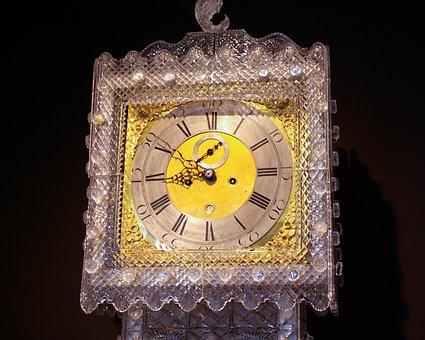 Clock, Ireland, Waterford, Crystal