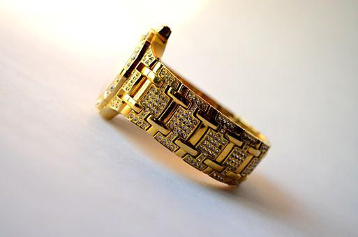 Jewelry, Watch, Luxury, Time, Clock, Gold, Fashion