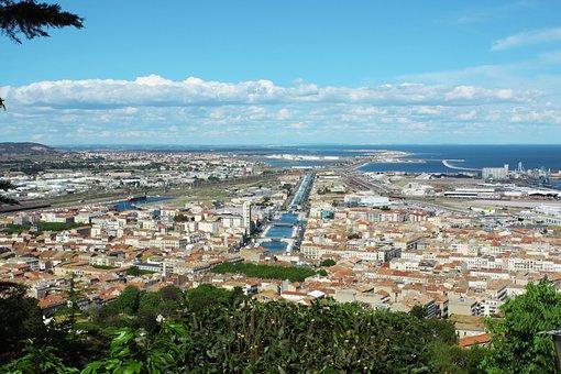 Sète, South Of France, France, Landscape, Summer, Sea