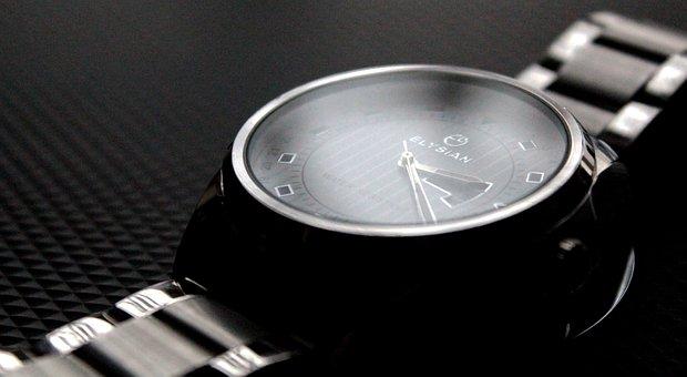 Wrist Watch, Elysian, Watch, Silver, Luxury, Metal
