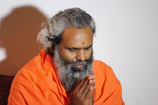 Prayer, Hindu, Swami, Namaste, Meditation, Closing