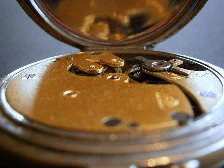 Clock, Movement, Pocket Watch, Horology, Watchmaker