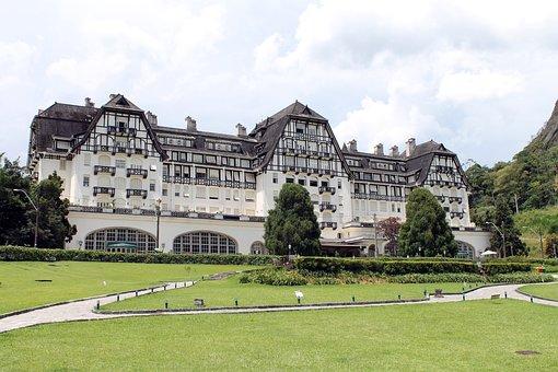 Quitandinha Palace, Hotel, Hotel Quitandinha, Palace