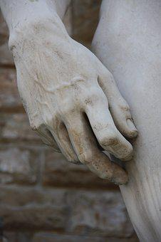Hand, Sculpture, Rome, Italy, Museum, Marble, Pierre