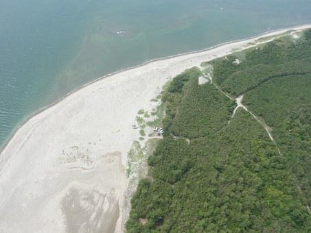 Paramotor Aerial, Fukiagehama, Seashore, Watch