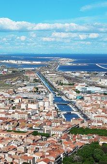 Port Of Sète, Port, France, Mediterranean, Sète