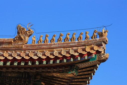 Forbidden City, Imperial Palace, Beijing, China, Unesco