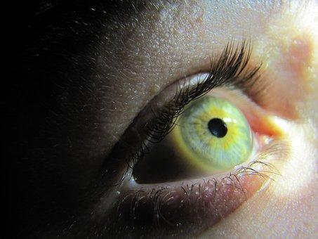 Iris, Eye, Szupermakró, Watch, Eyelash, Macro, Skin