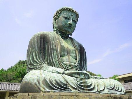 Kamakura, Big Buddha, Kotoku, Great Buddha Of Kamakura