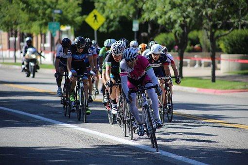 Bike Race, Bike Racers, Racing Cyclists, Bikers, Race