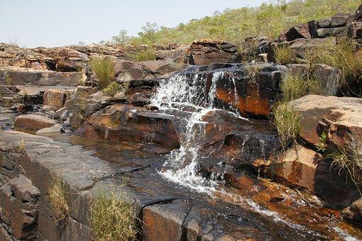 Waterfall, High-paradise, Landscape, Cascade, Nature