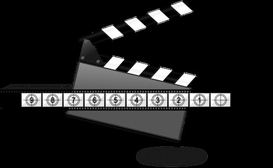 Clapperboard, Clap Board, Entertainment, Film, Media