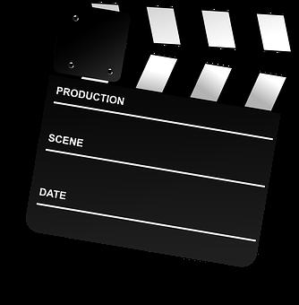 Cinema, Clapboard, Clapper-board, Director, Film, Movie