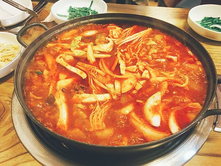 Chicken, Chicken Bokeumtang, Spicy, Delicious