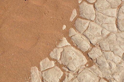 Desert, Sand, Clay, Ground, Dry, Drought