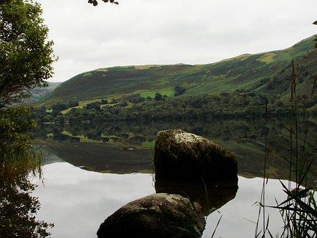 Lake, Mirroring, Landscape, Eng Long, Lakeland