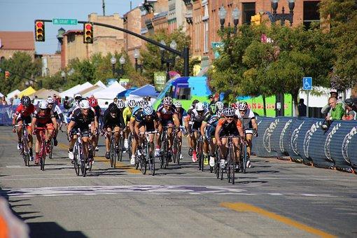 Bike Race, Race, Event, Bike, Cyclist, Competition