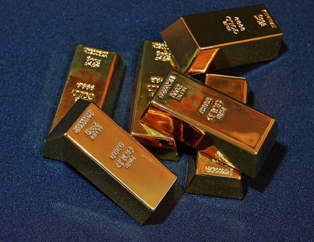 Gold, Bars, Collection, Exhibition, Unsorted, Variety