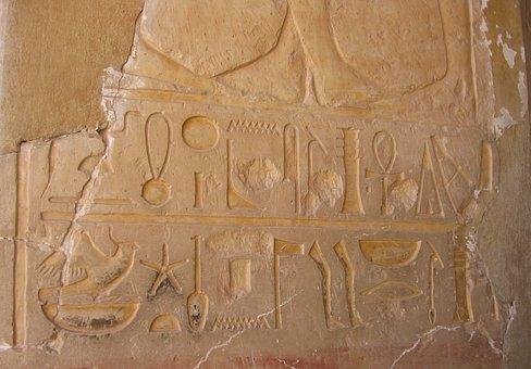 Hieroglyphics, Hieroglyphics Font, Egypt, Hieroglyph
