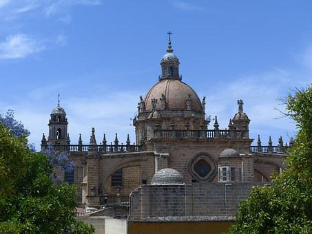 Cathedral, Architecture, Andalusia, Jerez