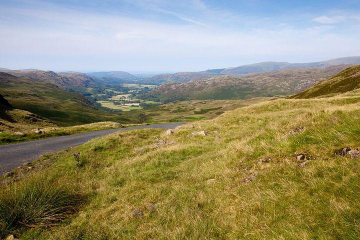 Beautiful, Countryside, Cumbria, Lake District, England