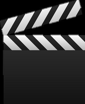 Clapboard, Multimedia, Movie, Video, Clapperboard