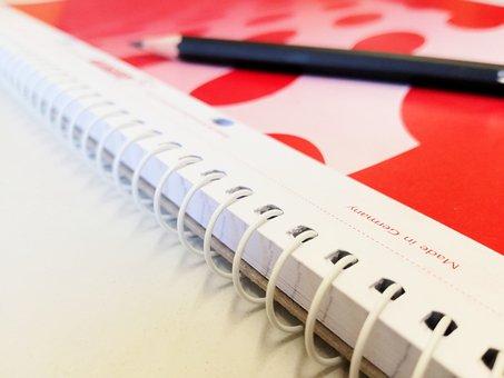 Block, Pen, Pencil, Notepad, Write, Office, Notes